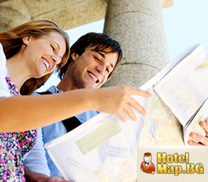 Website design and development of tourist website for HotelMap.bg